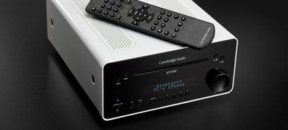 "CAMBRIDGE AUDIO ""ONE"" Komplettmusiksystem: UKW;DAB+;CD-Spieler;Bluetooth"