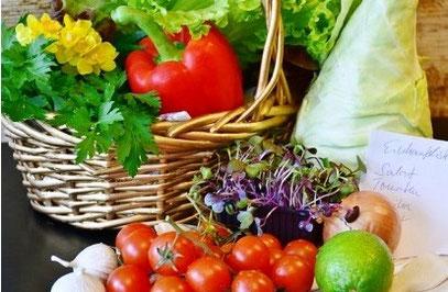Gemüse für eine ausgewogene Ernährung