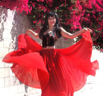 Sofia Goldberg - Gypsy Queen belly dancer ;)
