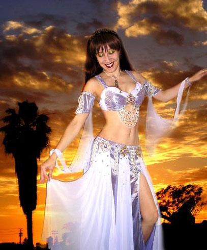 Ameynra belly dance fashion - 1st promo pic - Sofia Goldberg - model, designer, dancer