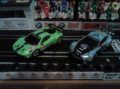 Ferrari 458 Italia  Krohn Racing No. 57 & Aston Martin V12  Vintage GT3  Young Driver 007