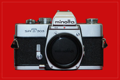 MINOLTA SR-T 303 chrom (1973)