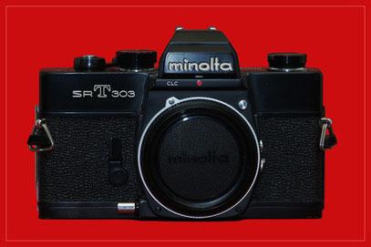 MINOLTA SR-T 303 schwarz (1973)
