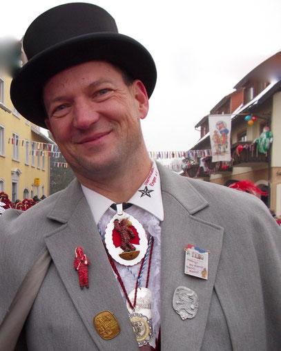 Narrenvater Frank Rosenfeld