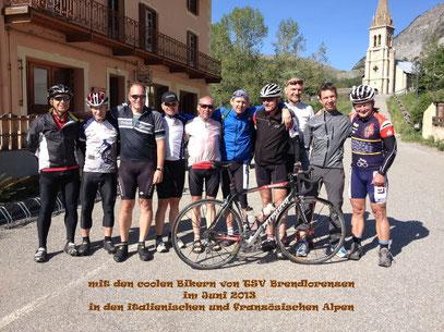 Rennrad-Alpentour