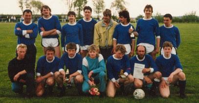 Sieg beim Traktorpokal 1991