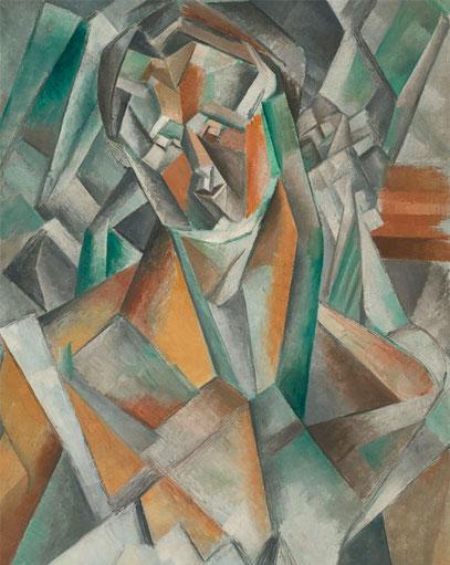 Сидящая женщина Пабло Пикассо