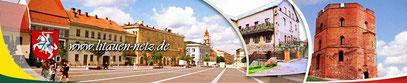 Auch hier gibt es zahlreiche und ausführliche Informationen über Litauen, dessen Regionen, Städten, usw. zu finden.