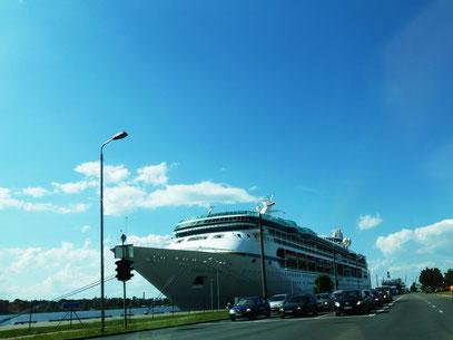 "Das Kreuzfahrtschiff ""Visions of the Seas"""