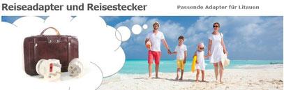 In welchen Ländern benötige ich einen Reiseadapter / Reisestecker...!? Info´s hier...!
