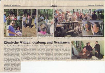 Zeitungsartikel (vergrößerbar)