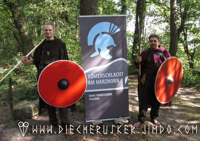 Die Cherusker am Harzhorn