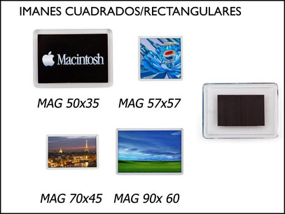imanes rectangulares