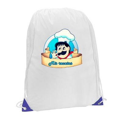 mochila personalizada todo color