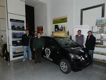 Der Sieger des VW Up - Bereitgestellt durch die Firma Kamper aus Neusiedl am See heißt Hillinger Friedrich, 84 Jahre, Pensionist aus Jois!