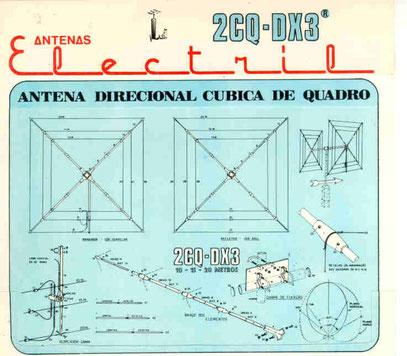 calcolatore  antenne  QUAD