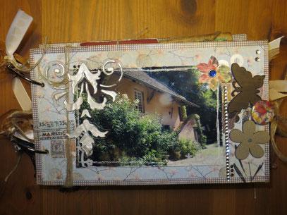 Ein Fotoalbum aus Papiertüten