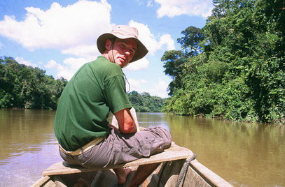 Remontée de fleuve en guyane