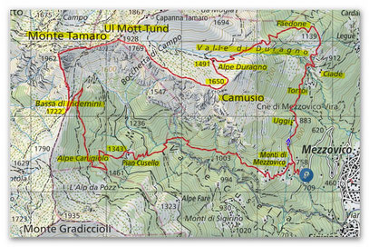 Clicca sulla cartina per vederla in SvizzeraMobile