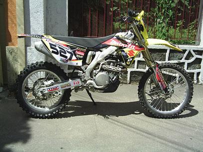 Suzuki RMX 450 - 2011