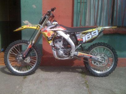 Suzuki rmz 2012