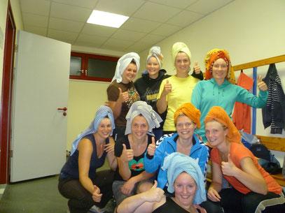 Impression der Saisonvorbereitung 2012/13 der ersten Frauenmannschaft