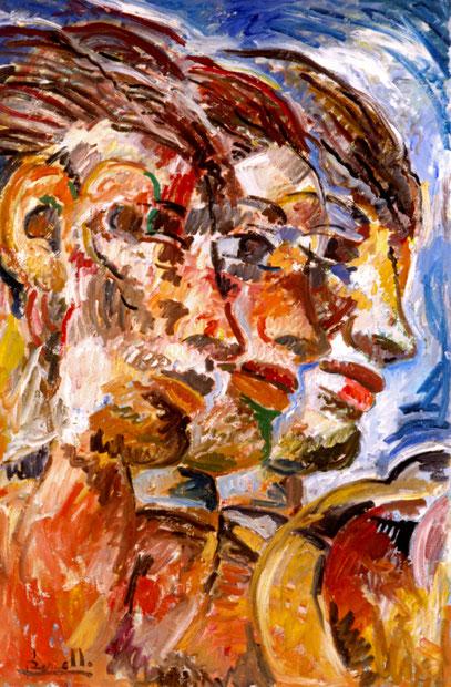 CERES, acrylique sur toile, 140 x 110 cm, 1986