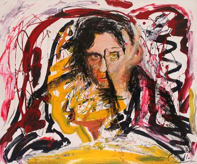 EXACTO, acrylique sur toile, 120 x 100 cm, 2000