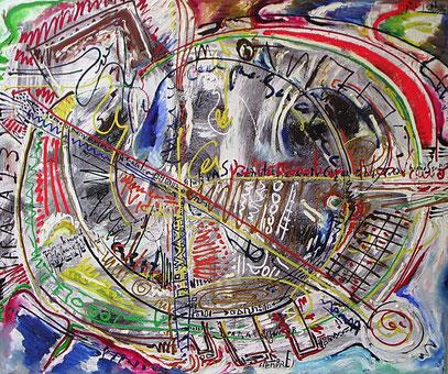 LO QUE HEMOS SOÑADO, huile sur toile, 120 x 100 cm 1993