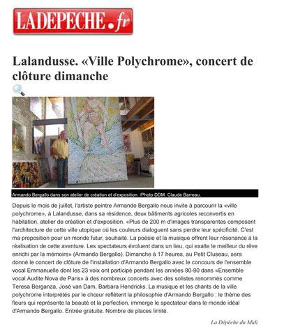 La Dépêche - mardi 28 août 2012