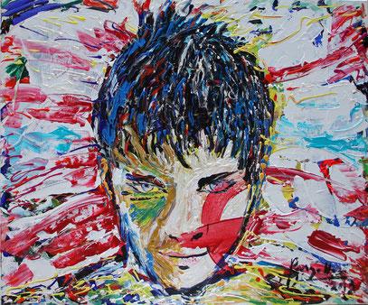 DASEIN, acrylique sur toile, 120 x 100 cm, 2013