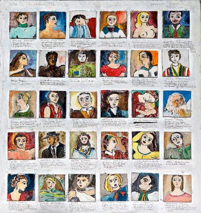 LISTA DE RECUERDOS 1942-1971, 1984
