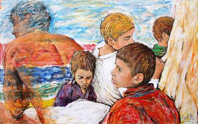 ESPERANZA, acrylique sur toile, 160 x 100 cm, 2006