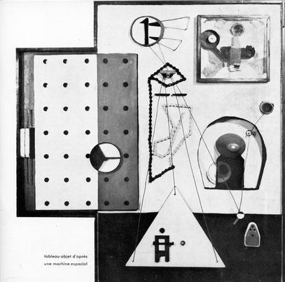 OBJET D'APRÈS UNE MACHINE SPACIALE, 1966