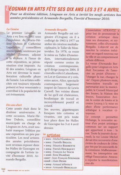 Magazine de Léognan