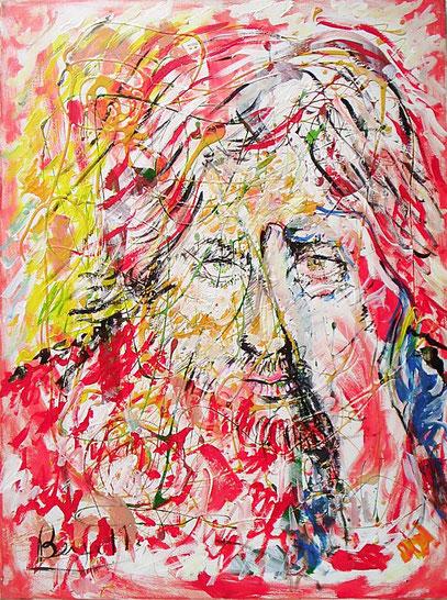 RACONTO, acrylique sur toile, 60 x 80 cm, 2002