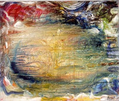 CONJURO, huile sur toile, 120 x 100 cm, 1992