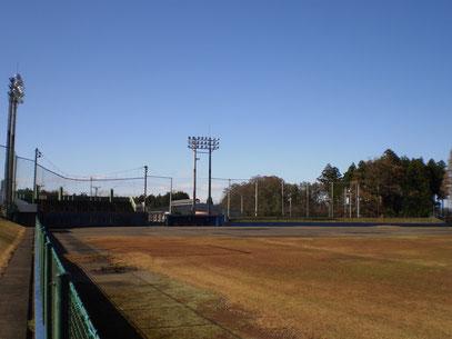 今日の「くびき球場」。若い頃、たいへんお世話になりました