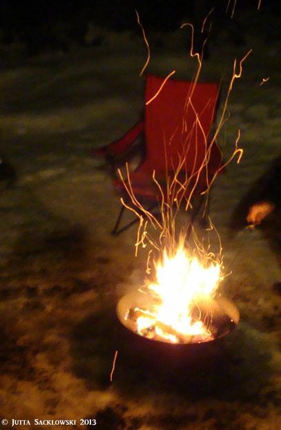 Unsere Feuerschale