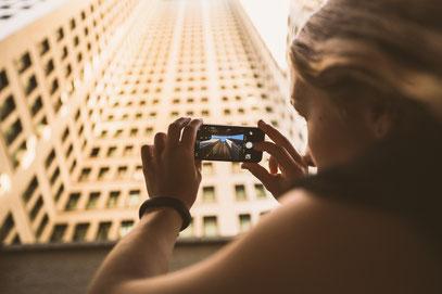 Selbst bei einigen Gebäuden müssen Urlaubsfotografen, bei der Veröffentlichung, auf das Urheberrecht Acht geben.