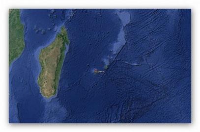 Île de la Réunion : observation d'un Ovni le 25 décembre 2014 Image