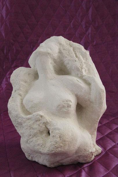 Medusa, 2009, Sandstein, 30cm hoch