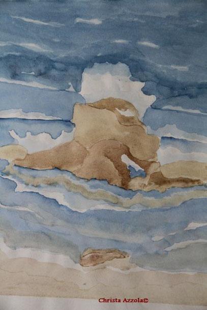 Rocks, Crete, 1990
