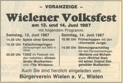 Grafschafter Nachrichten, 5. Juni 1987