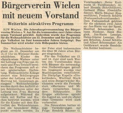 Grafschafter Nachrichten, 29.11.1986