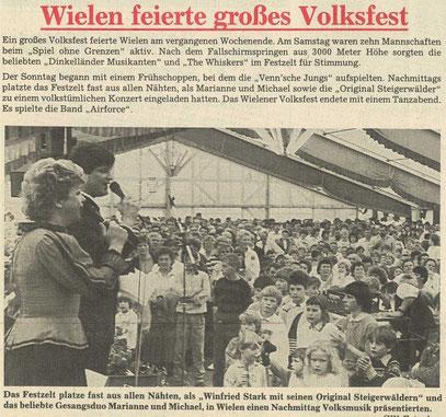 Grafschafter Wochenblatt, 17. Juni 1987