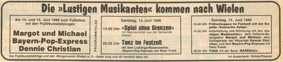 Grafschafter Nachrichten, 14. Juni 1986