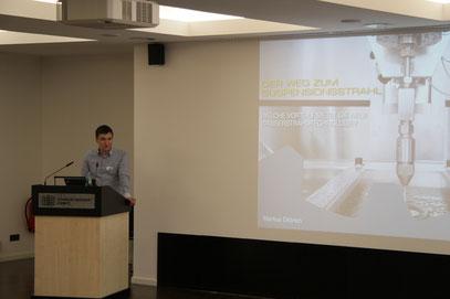 Voller Erfolg bei der Präsentation des ersten Anlagenprototypen vor dem Fachpublikum. Foto: Georg Schultheiß