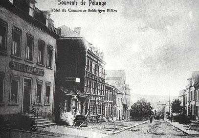 +- 1910 - Hôtel du Commerce Schintgen Eiffes