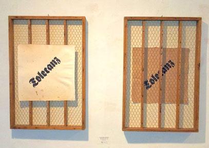 PAPIER-art ART-papier, Kunstobjekte aus Büttenpapier mit original Bleidruck, Michaela Metzler, Mattsee, Salzburger Seenland
